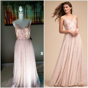 ANTHROPOLOGIE X BHLDN Cluny Dress